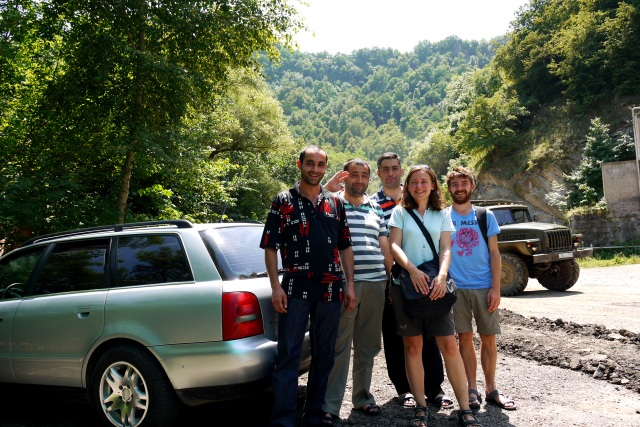 Hitch-hiking in Armenia, Debed Canyon, near Vanadzor
