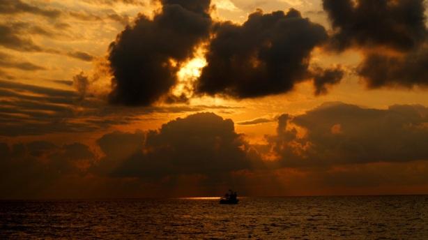a Black Sea sunset