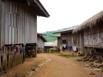 A rural village in the rain forests - Northern Thailand