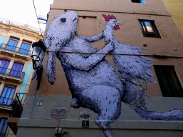 Street Art in Valencia, Spain