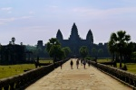 Prasat Angkor Wat, taken from a path within the temple walls - Angkor, Siem Reap, Cambodia (1)