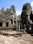 The ruins of the temple of Bayon - Angkor, Siem Reap, Cambodia (11)