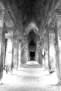 Inside the temple of Prasat Angkor Wat - Angkor, Siem Reap, Cambodia (4)