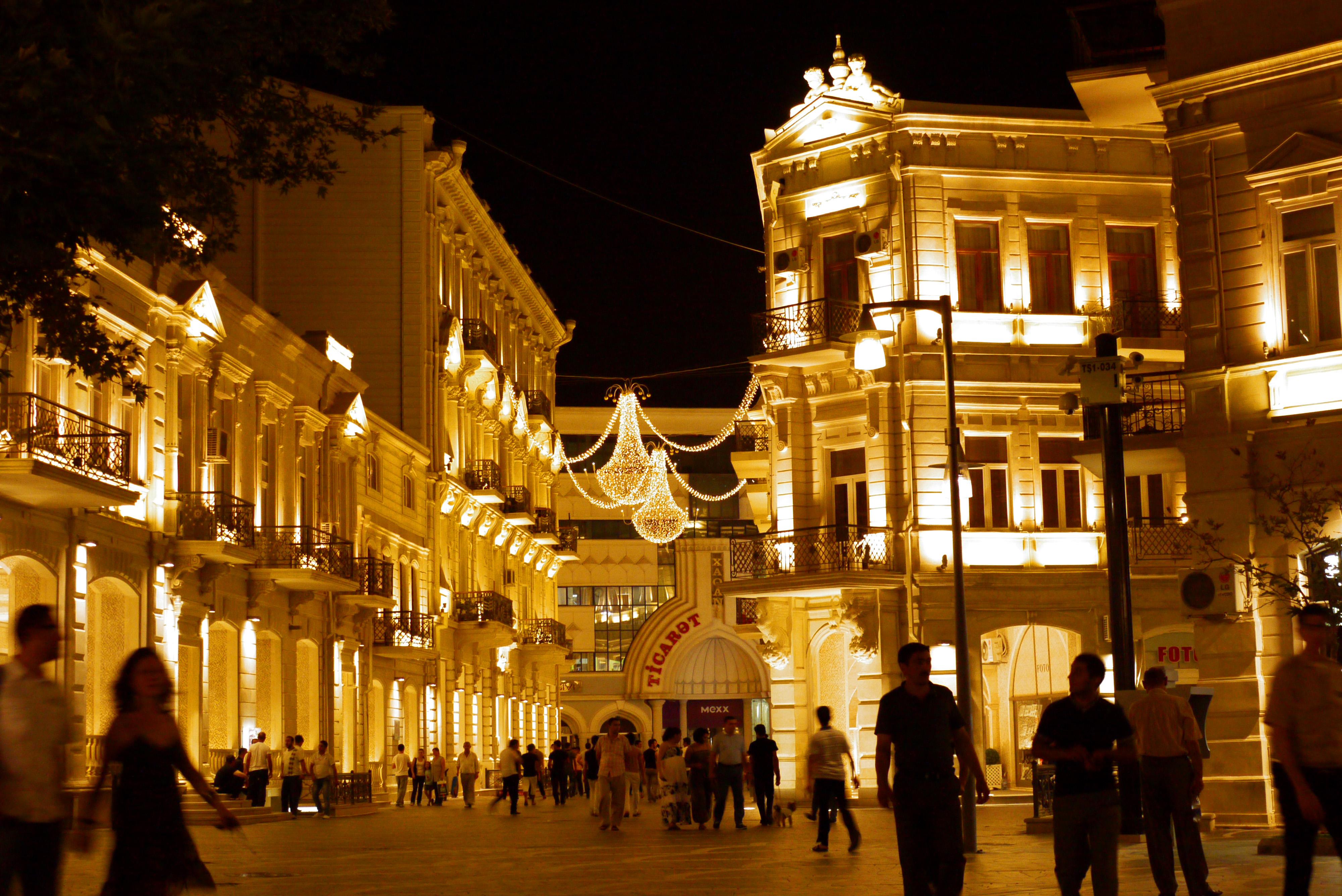 Baku by night hitch hikers 39 handbook for Azeri cuisine caledonian road