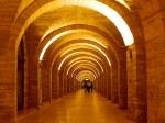The archways of Nizami raion bathed in light – Baku by night – Bakı, Azerbaijan (5)