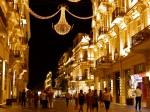 Nizami raion with strollers, bathed in light - Baku by night – Bakı, Azerbaijan (6)