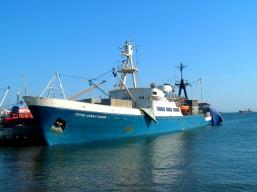 Geroi Sevastopola ship - our journey from Istanbul to Crimea, across the Black Sea