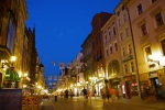 The illuminated Szeroka street by night - Torun, Poland (13)