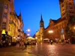 Old Town Hall on Old Town square by night - Torun, Poland (14)