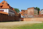 Football pitch in a corner of the old city walls - Torun, Poland (21)