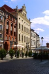 Dambski Palace, taken from żeglarska street - Torun, Poland (4)
