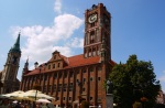 Old Town Hall on Torun Main square - Torun, Poland
