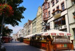 Beer gardens on Old Town Square - Torun, Poland (8)