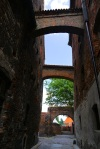 Narrow alleyway and cobbled streets - Torun, Poland (9)