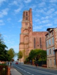 The tower of Sainte-Cécile Cathedral - Albi, France (117)