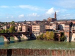 Panorama of Albi with the River Tarn in the foreground and St. Madeleine Church in the background - Albi, France (12)