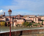 Panoramic view of Albi, across the River Tarn - Albi, France (128)
