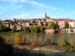 Panorama of Albi with River Tarn in the foreground and St. Madeleine Church prominent - Albi, France (13)