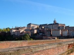 The old town of Albi with wall in the foreground - Albi, France (137)