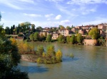 The River Tarn, taken from its bank - Albi, France (143)