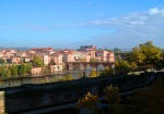 Panorama of Albi with Old Bridge spanning the River Tarn - Albi, France (74)