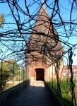 Walkway to a tower at Palais de la Berbie - Albi, France (77)