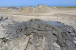 Mud volcanoes and deserted landscape - Gobustan National Park, Azerbaijan (10)