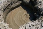A unique geo-thermal reaction at Gobustan Mud Volcanoes - Gobustan National Park, Azerbaijan (15)