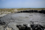 Close up of a Gobustan Mud Volcanoe's bubbling surface - Gobustan National Park, Azerbaijan (16)
