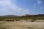 The flat and brown scenery of Gobustan - Gobustan National Park, Azerbaijan (2)