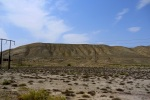 Flat and barren surroundings of Gobustan Mud Volcanoes - Gobustan National Park, Azerbaijan (6)