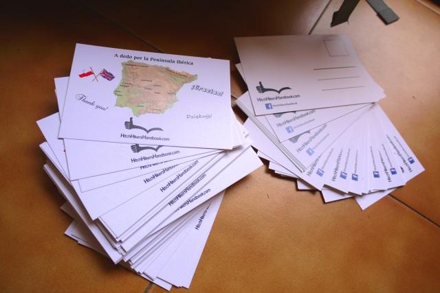 A dedo por la Península Ibérica: trip preparation