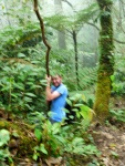 Hiking in the rainforest, getting up close and personal with a tree - Cameron Highlands, Malaysia (18)
