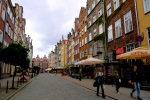 Colourful buildings along Ulica Piwna - Gdansk, Poland (3)