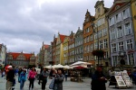 Old town square filled with tourists - Gdansk, Poland (4)