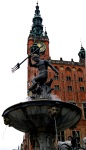 Neptune Fountain and Town hall on Ulica Długa - Gdansk, Poland (5)
