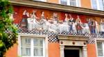 Decorative façade along Ulica Długa - Gdansk, Poland (6)