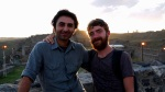 Jon and our couchsurfing host Yılmaz Akkaya, taken on top of Kars Castle - Kars, Turkey (10)