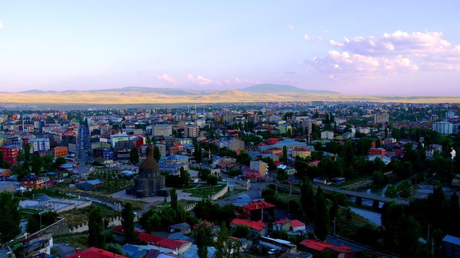 View over the city of Kars, taken from Kars Castle - Kars, Turkey (6)