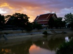 Night falling over the Yom river - New Sukhothai, Thailand (13)