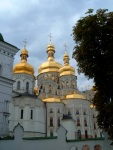 The golden domes of the Cathedral of the Dormition, at Kiev Pechersk Lavra Monastery - Kiev, Ukraine (9)