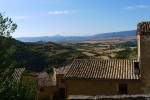 Rooftops and surrounding countryside of Sos del Rey - Sos del Rey Catolico, Spain