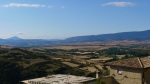 Rooftops and views over the Onsella Valley - Sos del Rey Catolico, Spain