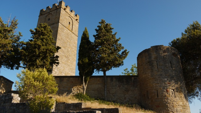 Tower of the Honoring of Sos del Rey Catolico and remaining city walls - Sos del Rey Catolico, Spain