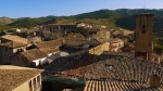 The rooftops of Sos in the afternoon sun - Sos del Rey Catolico, Spain