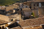 A view over the ramshackle rooftops of Sos - Sos del Rey Catolico, Spain