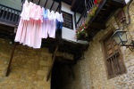 Washing hanging from a balcony - Santillana del Mar, Spain (18)