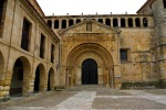 The main entrance to St Juliana's Church on Stone's square - Santillana del Mar, Spain (8)