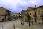 Square of the stones with tourists enjoying the sights - Santillana del Mar, Spain (9)