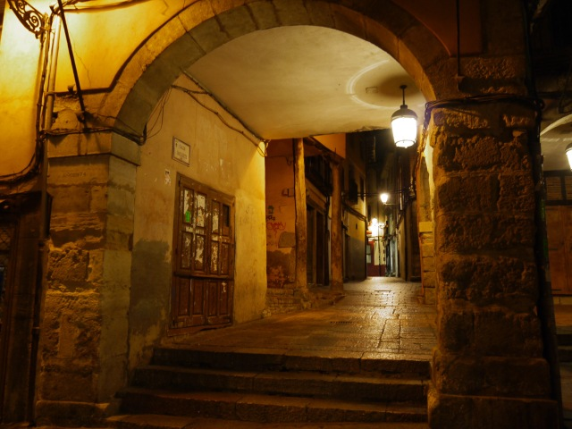 The entrance to Calle de Ramiro III, taken from Main square - León, Spain (13)
